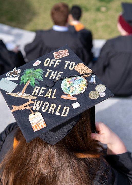 Champlain College student graduation